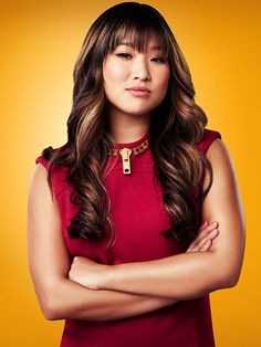 Jenna Ushkowitz plays Tina Cohen-Chang