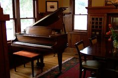 My dream is to have a home big enough to hold my grand piano.