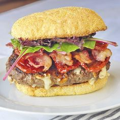 Chipotle Jack Bacon Burgers