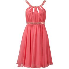 Forever New Gracie embellished evening dress ($155) ❤ liked on Polyvore