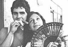 Renato Xaxá e Sandrinha, 1982.