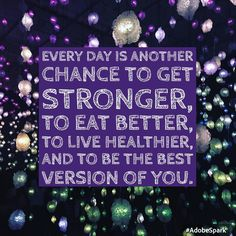 Be happy, be healthy! #itsanewday