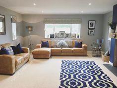 Living Room Tv, Cozy Living Rooms, Living Room Color Schemes, Living Room Designs, Mustard Living Rooms, Living Room Inspiration, Room Colors, Family Room, New Homes