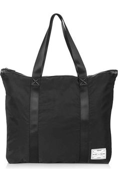 Topshop Oversize Nylon Shopper available at #Nordstrom