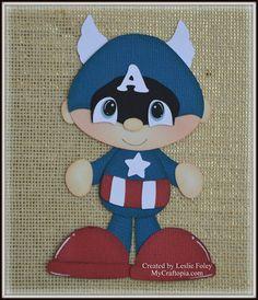Capitán América Super héroe Avenders por MyCraftopia en Etsy