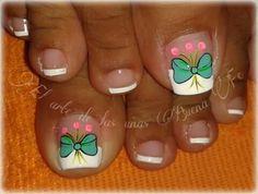 Toe Nail Art, Toe Nails, Pedicure Nails, Manicure, Toe Nail Designs, Christmas Nail Art, Beauty, Pretty Pedicures, Nail Art Designs