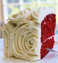 Future red velvet wedding cake