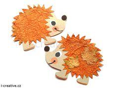 Podzimní výtvarné nápady z papíru pro pro předškolní děti.    …