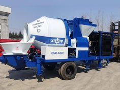 Diesel concrete mixer with pump adopts diesel as its basic engine, which can mix and pump concrete efficiently to any places with low labor work and costs. Types Of Concrete, Mix Concrete, Water Pump Motor, Pumping At Work, Civil Construction, Electrical Engineering, Civil Engineering, Pressure Pump, Concrete Mixers
