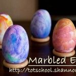 Beautiful Marbled Eggs