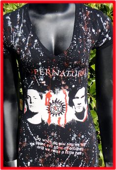 Supernatural Top Dean Sam Winchester CW You pick the size