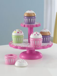 Cupcake Stand With Cupcakes by KidKraft