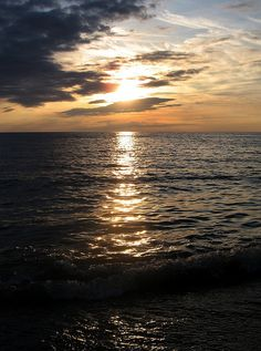 Lake Huron Sunset from Kincardine, Ontario