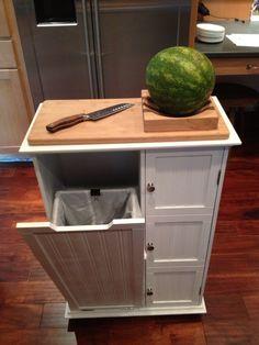 Kitchen Prep Station Wood Cabinets De 13 Bedste Billeder Fra Carts I Up Cycled This Hamper Into A For Less Than 50