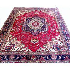 Tapete Tabriz, med. 2,77x2,04 = 5,65 m2.