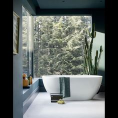 01 of Bathroom Design IdeasLooking for some bathroom decor inspiration? Here are some beautiful bathrooms to get your decoration gears going. Maybe you'll glean an idea or two for your … Bathroom Interior, Modern Bathroom, Small Bathroom, Bathroom Taps, Bathroom Ideas, Bathtub Ideas, Nature Bathroom, Minimalist Bathroom, Bathroom Colors