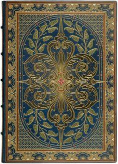 Heading: (Sangorski, Alberto, calligrapher and illuminator)Author: Rossetti, Dante GabrielTitle: The Blessed DamozelPlace Published: London