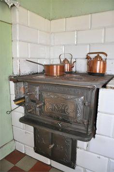Vackra vedspisen Range Cooker, Cookers, Stoves, Home Appliances, Landscape, Wood, Outdoor Decor, House, Design