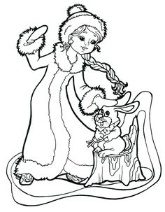 Раскраска Снегурочка Snow Maiden, Paper Crafts For Kids, Kid Crafts, Christmas Colors, Coloring Pages, Photo Wall, Templates, Print Coloring Pages, Infant Activities