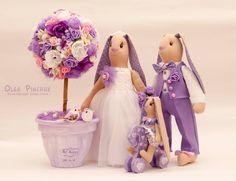 свадьба, тильда зайка, тильда зайка на свадьбу, сиреневая свадьба, украшения для свадьбы, игрушки на свадьбу, топиарий, дерево счастья, сиреневый топиарий, топиарий заказать, топиарий киев, дерево счастья под заказ, семья зайчиков, текстильные зайки, зайцы на свадьбу, подарок на свадьбу, зайцы на сиреневую свадьбу, интерьерная игрушка, интерьерные зайцы, семья зайчиков игрушки, игрушки на свадьбу, игрушки под заказ, Ольга Пинчук, пошитые мечты