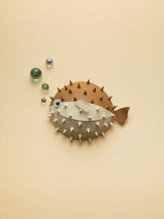 Paper objects on Behance