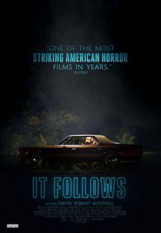 It Follows - Horror - Thriller - Drama - Movie Poster - 2015 - Bailey Spry - Carollette Phillips - Loren Bass