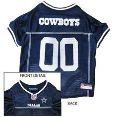 NFL Dog Team Logo Sports Shirt - Dallas Cowboys