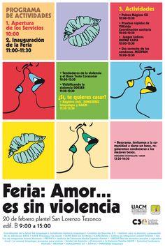 Feria Amor es sin Violencia UACM 2015 Peanuts Comics, Amor, Hiv Aids
