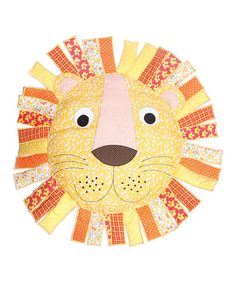 Animal magic: Zoo decor for a child's bedroom Peluche Lion, Zoo Decor, Childrens Cushions, Sass & Belle, Nursery Accessories, Patchwork Cushion, Colourful Cushions, Animal Magic, Room Themes