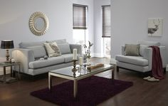 How to Style your Sofa - pale grey