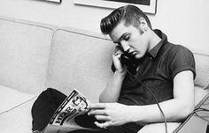 Elvis. #originalcool #chuckabillyrules