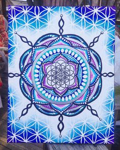 FREE SHIPPING: Snowflake Flower of Life by FromAylaWithLove