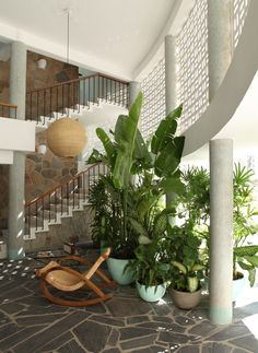 The Boca Chica Hotel in Acapulco - can SO use this as a house idea! (and won't mind staying at the Boca Chica either! Decoration Inspiration, Interior Inspiration, Design Hotel, House Design, Spa Hotel, Sweet Home, Home Decoracion, Interior And Exterior, Interior Design