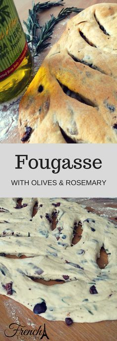 Fougasse is a bread from the south of France and an absolute treat! Pair it with some cheese or eat it by itself. It is good either way!