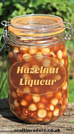 This simple hazelnut liqueur recipe only takes minutes to prepare but results in a deliciously rich and smooth nut flavoured liqueur that is perfect for gifting. Homemade Liqueur Recipes, Homemade Alcohol, Gin Recipes, Homemade Liquor, Alcohol Recipes, Cocktail Recipes, Cooking Recipes, Hazelnut Recipes, Recipes