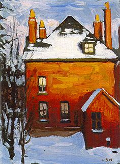 Little House, Lawren Harris, Canadian Group of Seven Tom Thomson, Emily Carr, Group Of Seven Artists, Group Of Seven Paintings, Canadian Painters, Canadian Artists, Landscape Art, Landscape Paintings, Landscapes