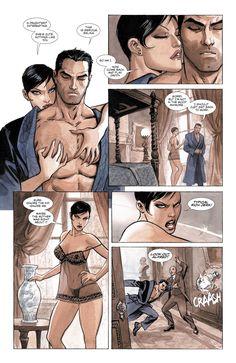 Batman: The Dark Prince Charming, Batman Catwoman, Bruce and Selina