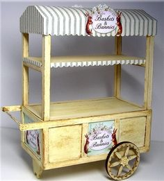 how to: Easter peddler's cart