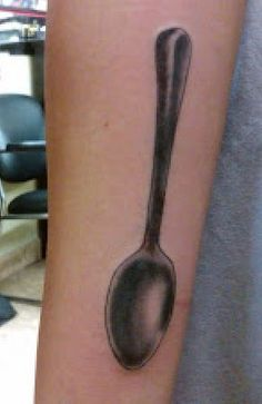 I want this spoon tatted on my finger 1 1/2 in maybe? #spoontheory