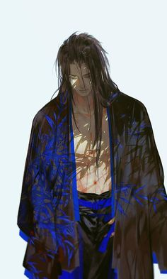 Please visit our website to support us! Fantasy Characters, Anime Characters, Male Character, Samurai Champloo, Hot Anime Guys, Manga Boy, Boy Art, Chinese Art, Vampires