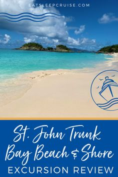 Are you dreaming of taking a Caribbean cruise vacation once cruising resumes? If you are looking for ideas for things to do while in St. Thomas, then look no further. Here is our review of the St. John Trunk Bay Beach & Snorkel shore excursion when on a Royal Caribbean cruise. While in port there are many things to do, but this is a great way to spend the day at the beach with or without kids. Check out our review and get ready to book when we can start cruising again. Cruise Excursions, Cruise Destinations, Shore Excursions, Cruise Vacation, Southern Caribbean Cruise, Freedom Of The Seas, Cruise Ship Reviews, Travel Reviews, St Thomas