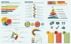 Inforgraphic Text For Her, Charts And Graphs, Information Design, Lorem Ipsum, Infographics, Editorial, Concept, Graphic Design, Trends