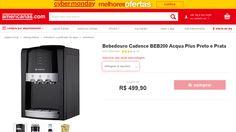 [Americanas.com] Bebedouro Cadence BEB200 Acqua Plus Preto e Prata por R$ 442,63