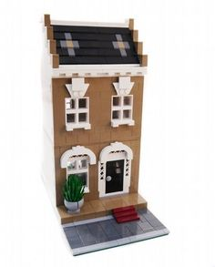 2 City Residential Houses - Modular Buildings: A LEGO® creation by Brian Lyles : MOCpages.com