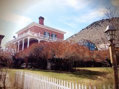 Mackay Mansion, Nevada: The little girl in white is the most famous of the ghosts. She reportedly fell down a staircase to her death, and now haunts the upper-floor bedrooms. The small girl has appeared to several guests, including Johnny Depp, who claimed to see her in 1995. Others hear a child's voice, laughing and footsteps.