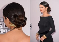 8 Celebrity Updos to Try Now: Selena Gomez