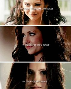 The Vampire Diaries - Katherine Pierce #KatherineFierce