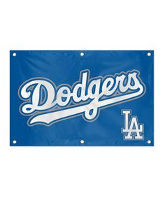 Take a look at this Los Angeles Dodgers Fan Banner by Party Animal on #zulily today!