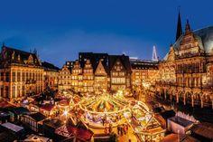 Bremen : Bremen Christmas Market, © Jonas Ginter / BTZ Bremer Touristik-Zentrale