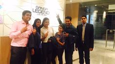 The sales team signing off after a busy Saturday at #GangaLegend! Happy weekend, folks! When are you stopping by? #Bavdhan #Pune #TeamGGG Visit our sales office or go to http://www.goelganga.com/ganga-legend.php